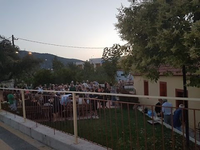 Κοσμοσυρροή στον εορτασμό του παρεκκλησίου Αγίων Αποστόλων Πέτρου και Παύλου Λαδοχωρίου