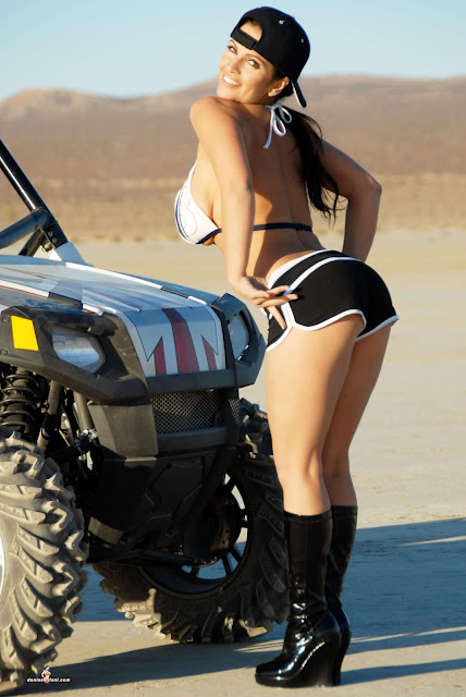 Denise Milani ATV hot and sexy Photoshoot picture 27