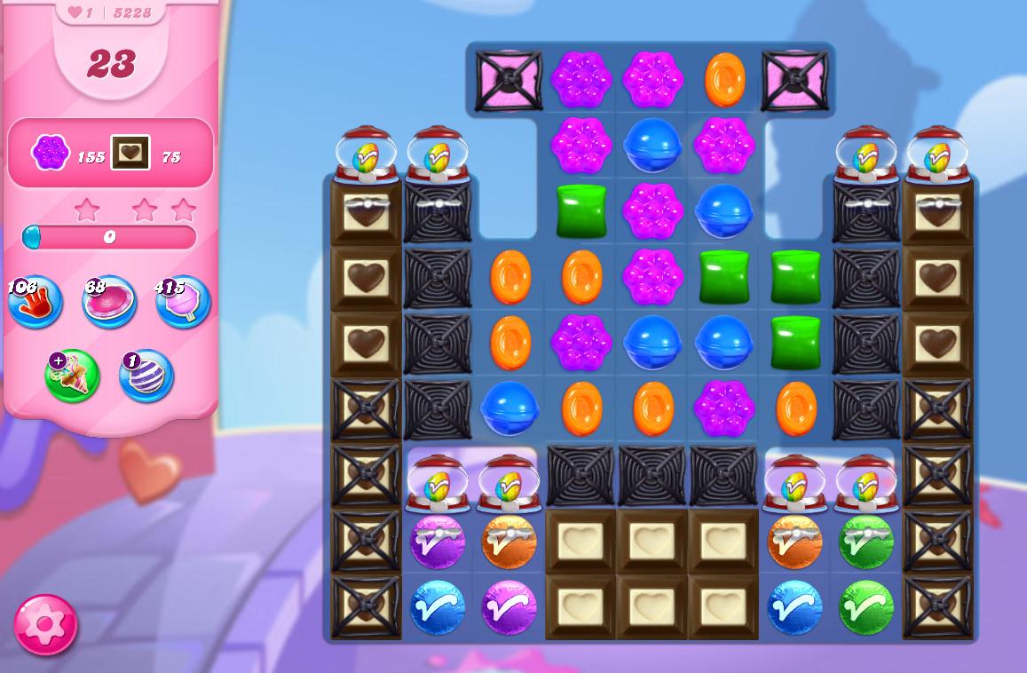 Candy Crush Saga level 5228