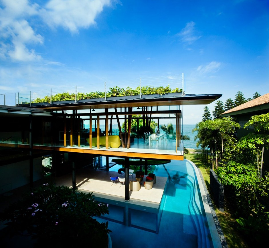 Inside Shipping Container Homes: Modern Luxury Tropical House: Most Beautiful Houses In The