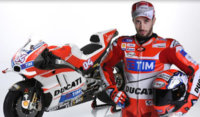Ducati Luncurkan Desmosedici GP16, Ini Dia Penampakannya