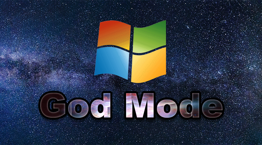 how to activate god mode on windows