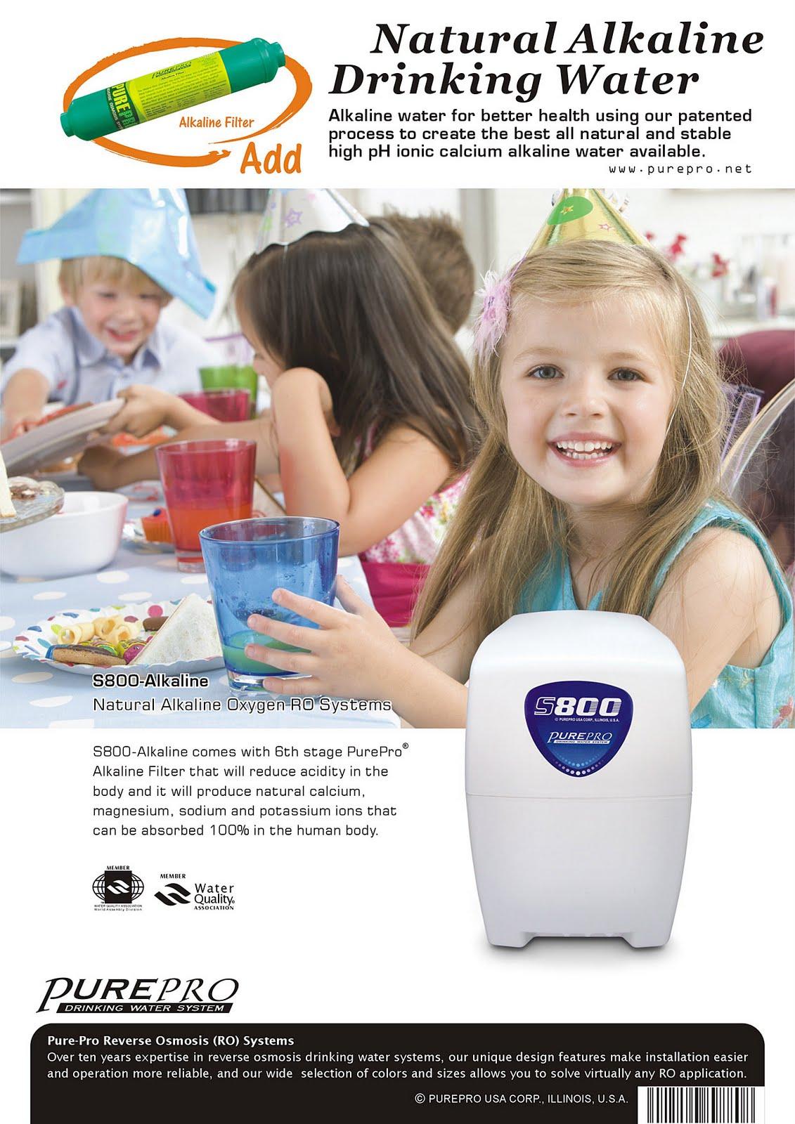美國PurePro®鹼性能量RO活水機 S800-Alkaline 台灣總代理原廠公司貨