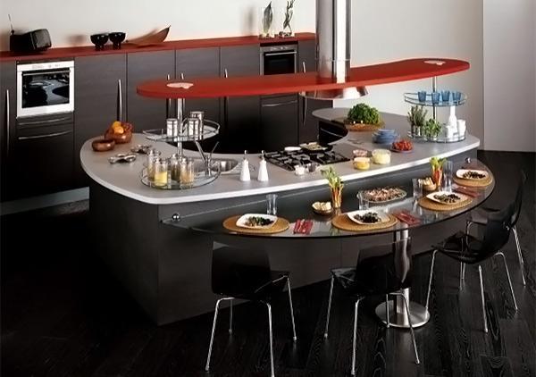 yakni salah satu area yang sangat dibutuhkan dalam sebuah rumah Berbagai Model dan Desain Dapur Modern Unik