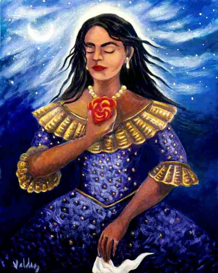 Красочные картины. Patssi Valdez