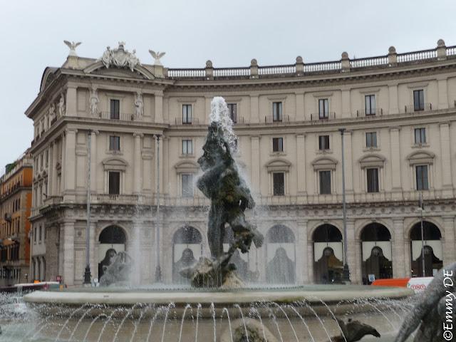 Piazza della Repubblica in Rome ~ Italy by ©Emmy DE