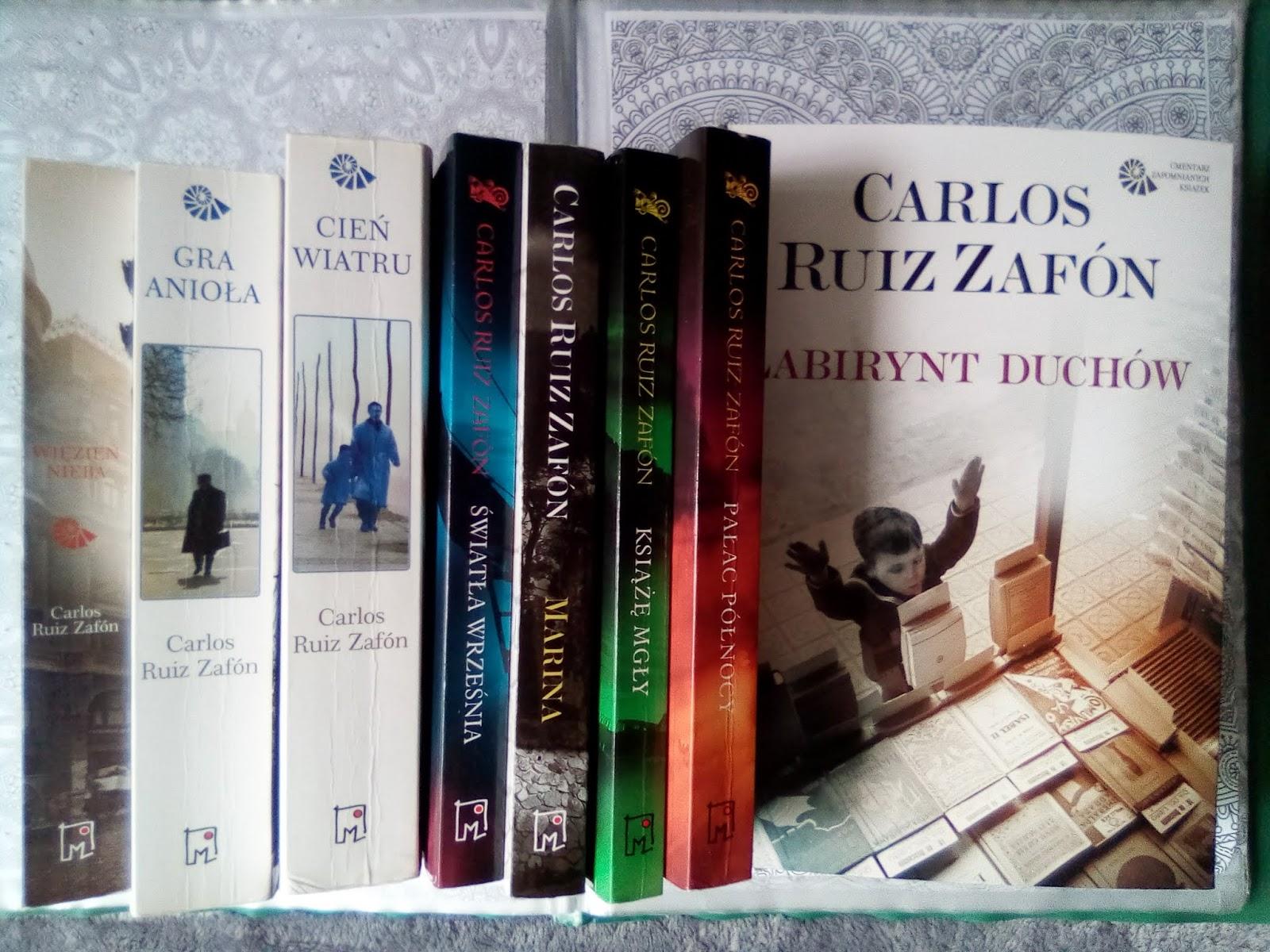 Czytanie Z Filiżanką Herbaty Książki Carlosa Ruiza Zafona