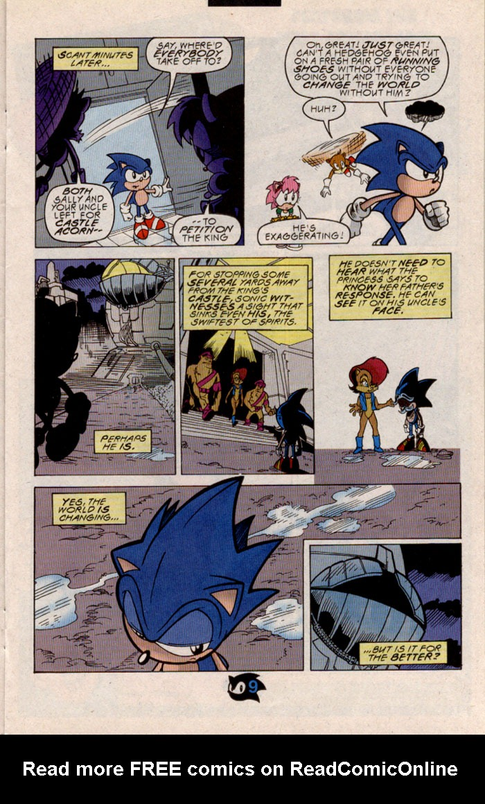 Read online Sonic The Hedgehog comic -  Issue #54 - 10