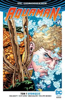 Aquaman tom 1: Utonięcie okładka