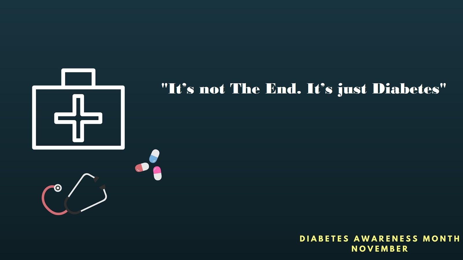 diabetes day slogans