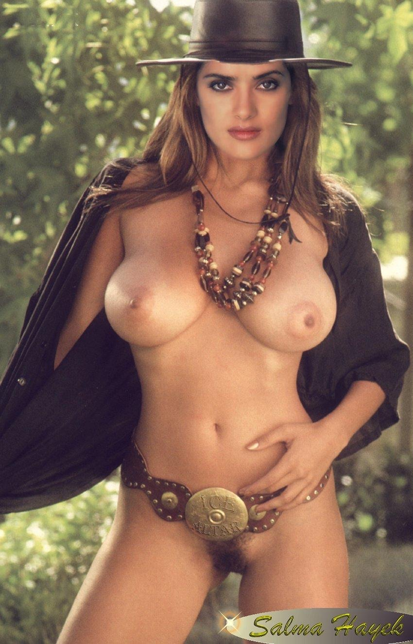 salma hayek hot boobs nude