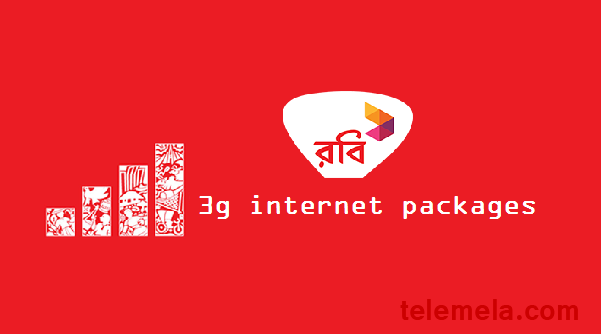 robi 3g internet package