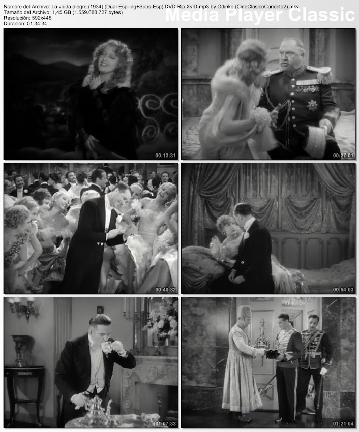 La viuda alegre | 1934 | The Merry Widow
