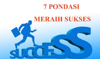 Ingin Sukses? Baca dan lakukan 7 Pondasi Meraih Sukses