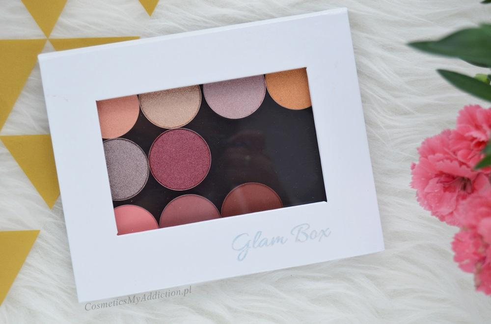 Pierwsze wrażenia - Glamshadows / swatche cieni zakupionych w Glam-Shop.pl