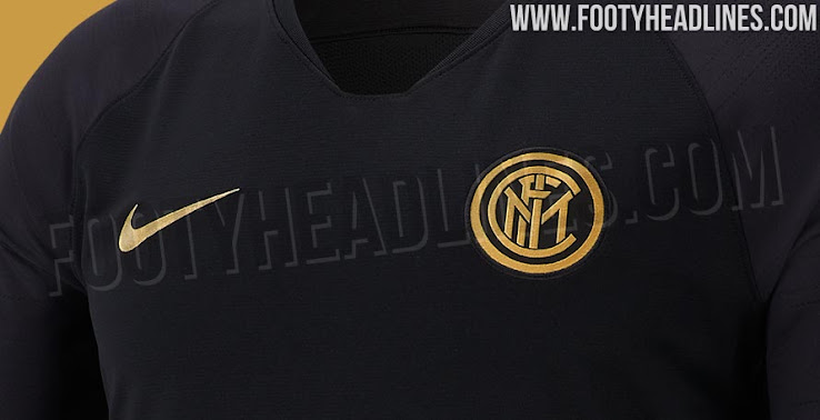 Hint At Next Season s Kits - Black   Gold Inter Milan 19-20 Training  Collection Leaked cd41d267e