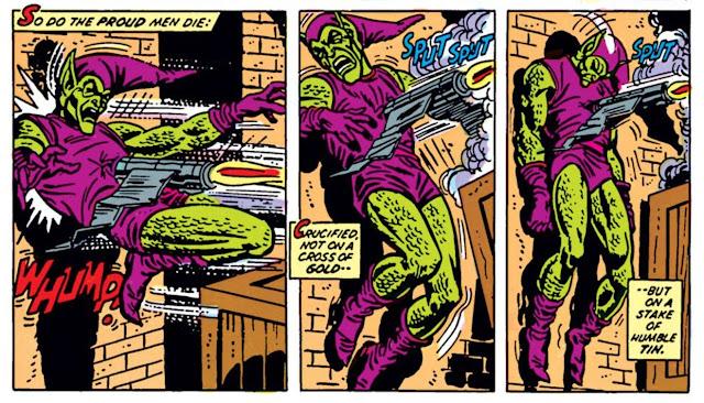 Norman Osborn morte homem-aranha hq duende verde gibi