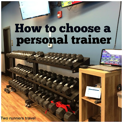 How to choose a personal trainer to help you meet your running and fitness goals