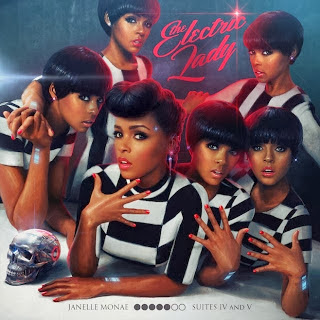 pochette album Janelle Monae The Electric Lady