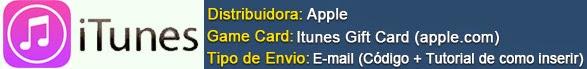 CLIQUE PARA COMPRAR! (Gift Card iTunes)