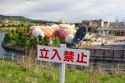 parque abandonado en Japon