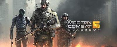 1. Modern Combat 5: Blackout