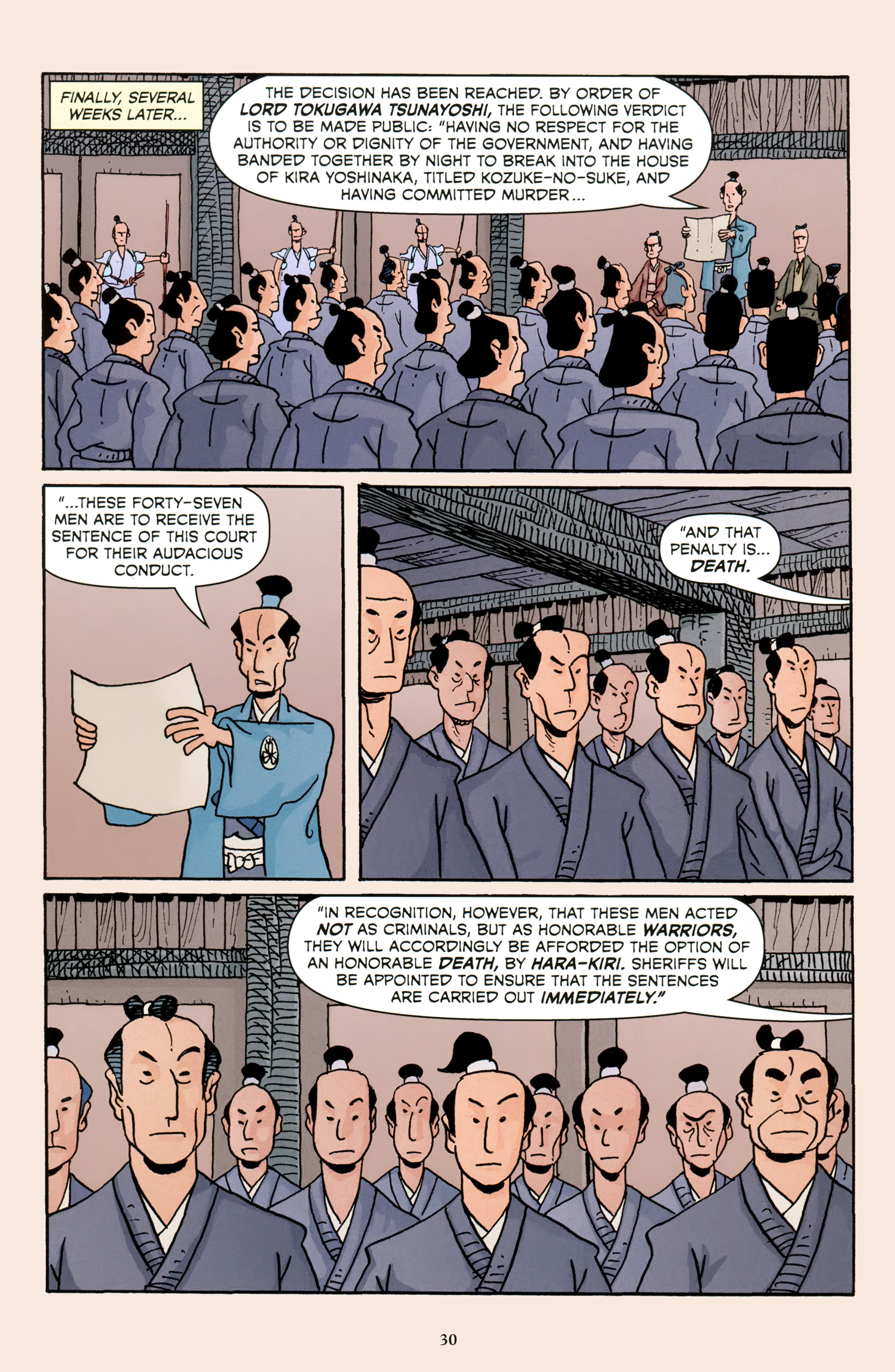 Read online 47 Ronin comic -  Issue #5 - 33