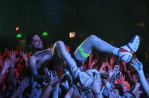 Stage Diving at Girl Talk: Like Blowing Up The Moon