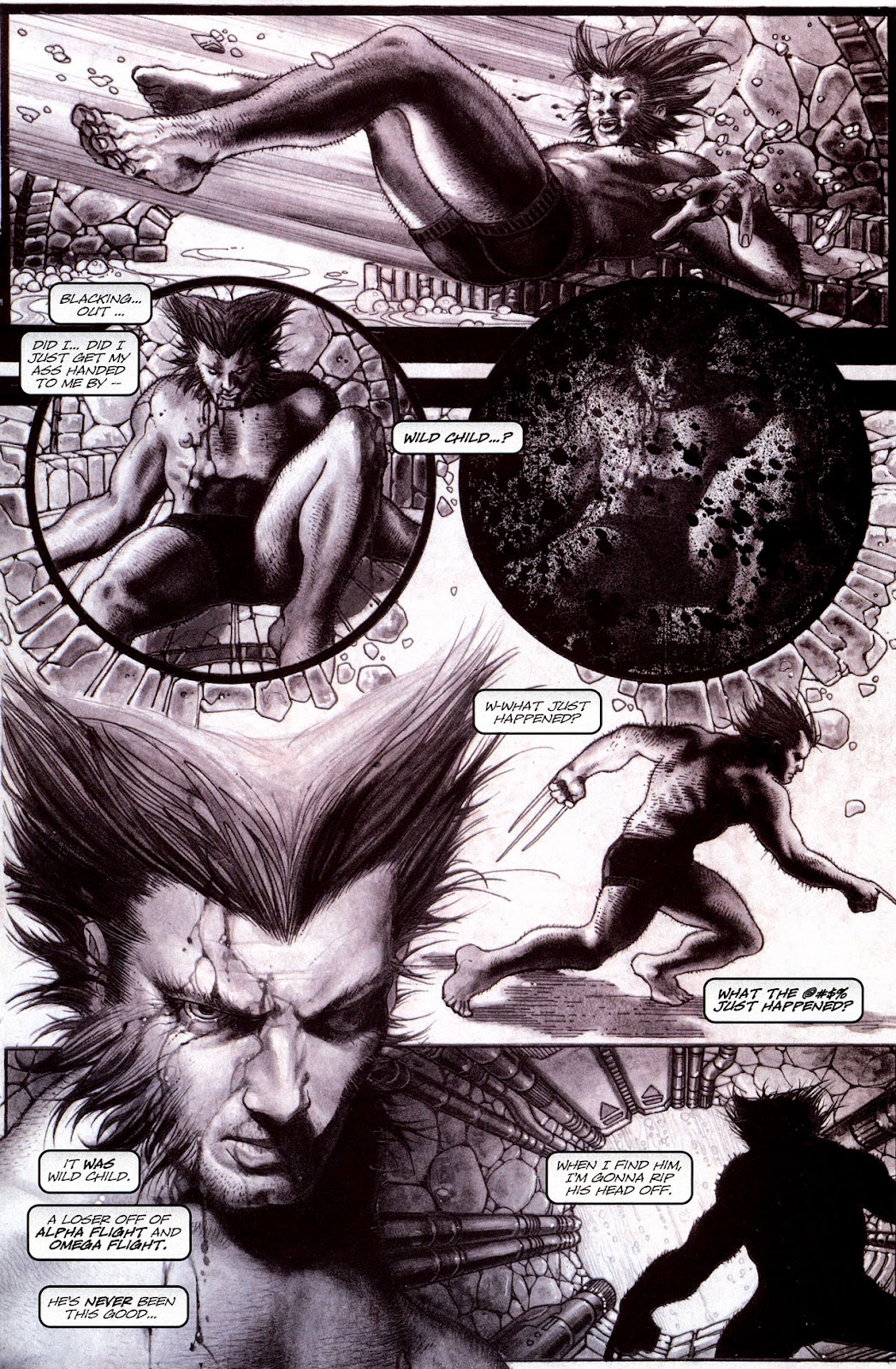 Read online Wolverine (2003) comic -  Issue #53 - 16