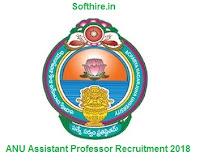 ANU Assistant Professor Recruitment