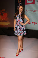 Kyra Dutta in a Deep neck Small Dress at Shamanthakamani pre release function ~  Exclusive 098.JPG