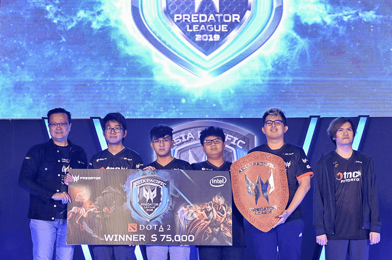 TNC Predator wins the DOTA 2 championship