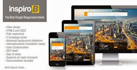 Inspiro B V211 ThemeForest Premium Responsive Theme For Drupal 7