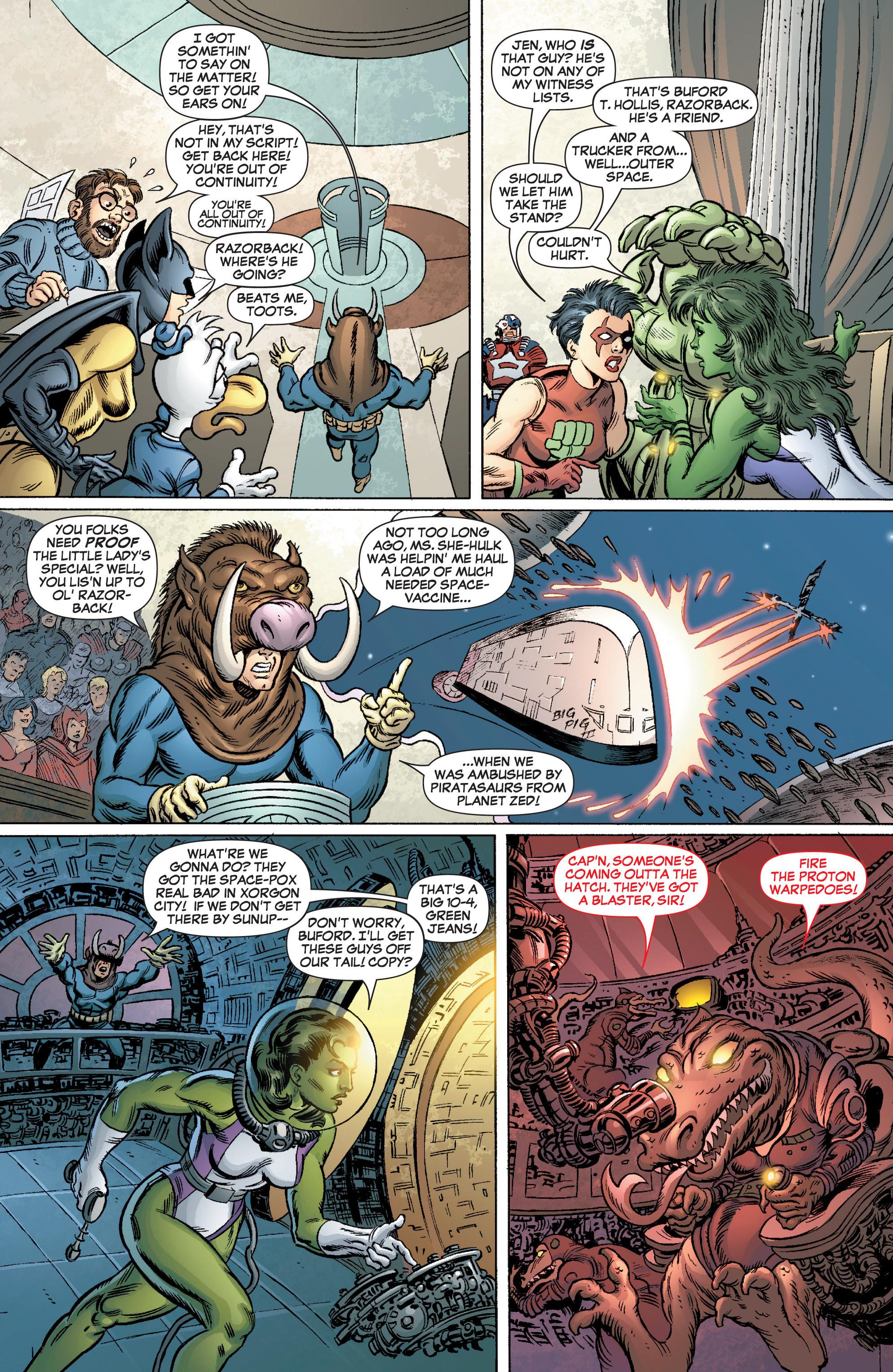 Read online She-Hulk (2005) comic -  Issue #3 - 21