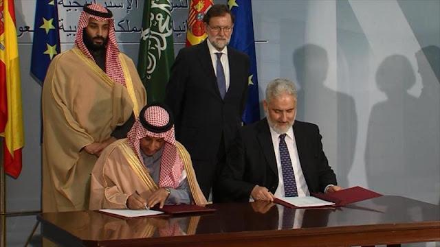 Exigen que se paralice la venta de armas de España a Arabia Saudí