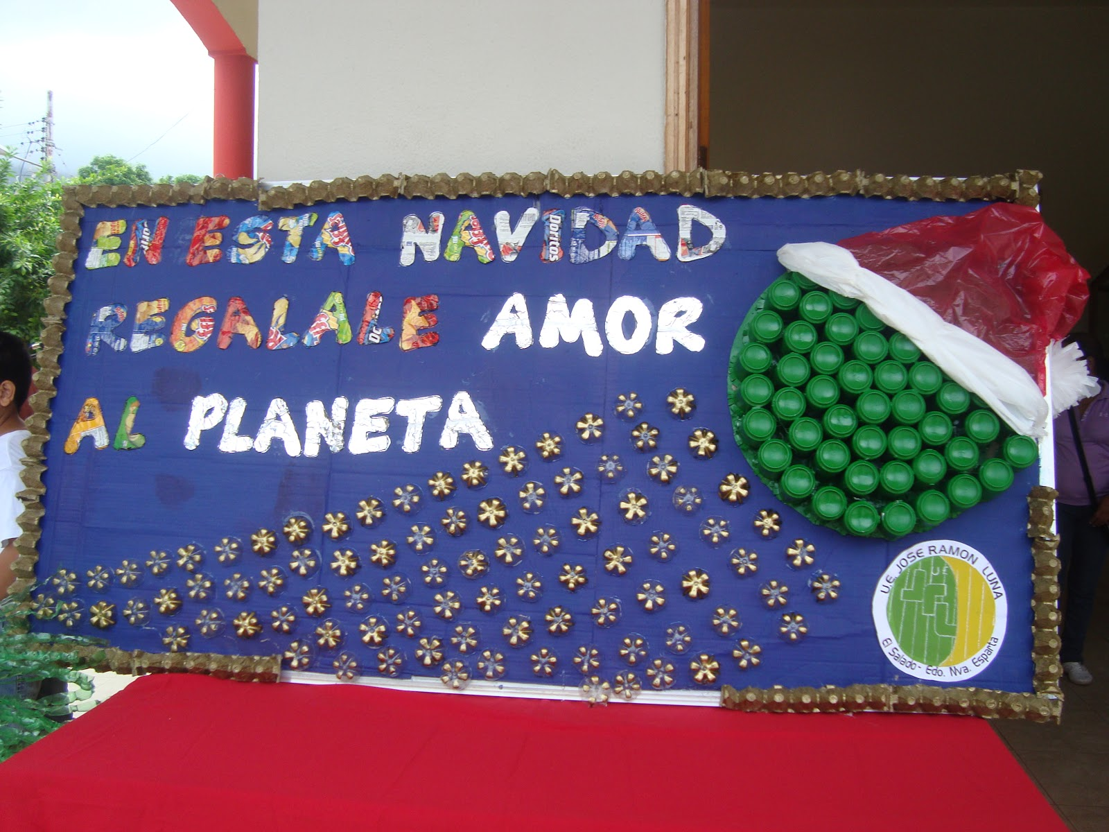 ANTOLN TURSTICO Parrandn escolar Navideo y Exposicin de cartelera en la Plaza de Paraguach