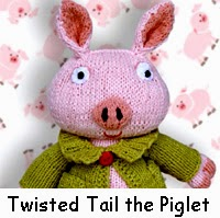 Twisted Tail the Piglet