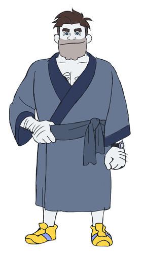 Ryuuji Akiyama como el Líder en Calzoncillos