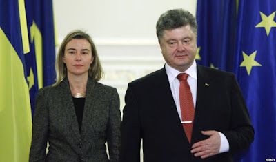 EU Commissioner for Foreign Affairs Mogherini visited Kyiv