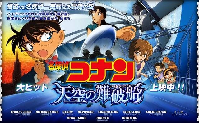 Thám Tử Conan 14  - Conan Movie 14 VietSub (2013)
