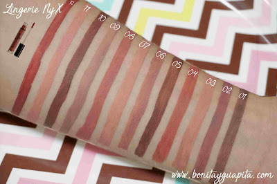 swatches lingerie nyx