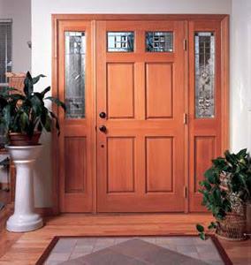 for Puertas de ingreso de madera