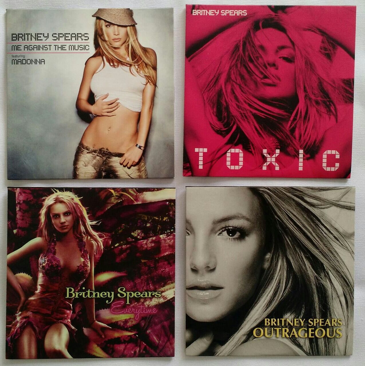 cds collection britney spears the singles