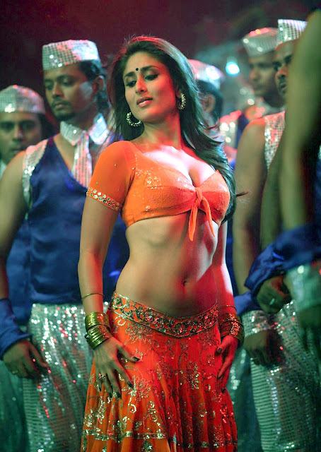 Lehren Hot Kareena Kapoor Navel Dance Showing Full Belly-2208