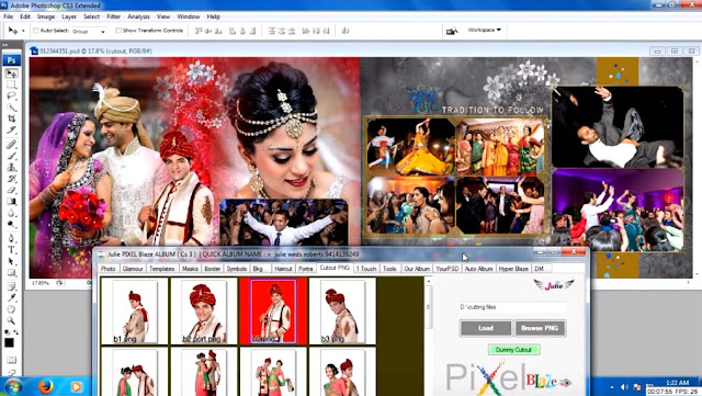 Buy Julie Pixel Blaze Album Design Software With 47 Gb Complete Data