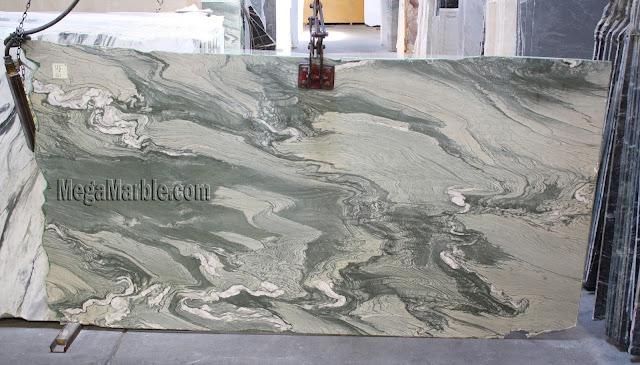 Cipollino Ondulato marble slabs for countertops
