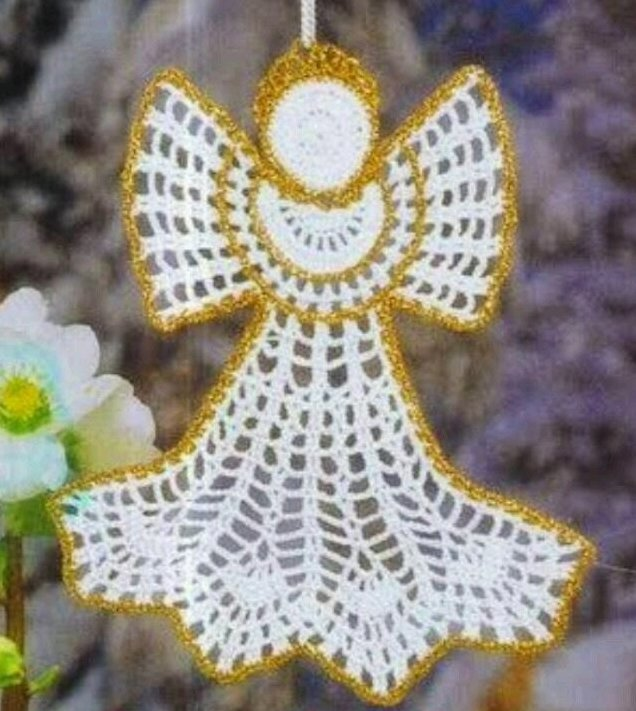 lo spazio di lilla collezione di angeli alluncinetto con