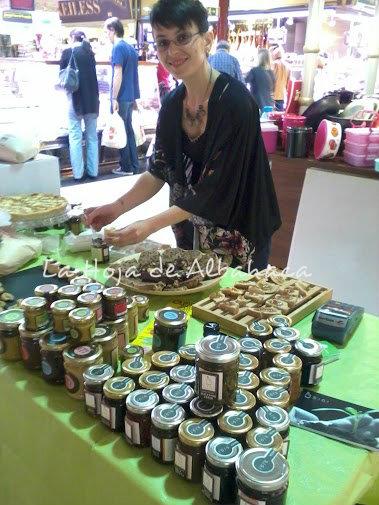 la tienda de la hoja, mermeladas ecológicas, azienda agricola SiGi., cremas de chocolate naturales ,ciccolato italiano