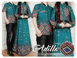 model baju batik untuk pesta pernikahan modis