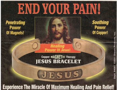 End Your Pain Jesus Bracelet Magnets